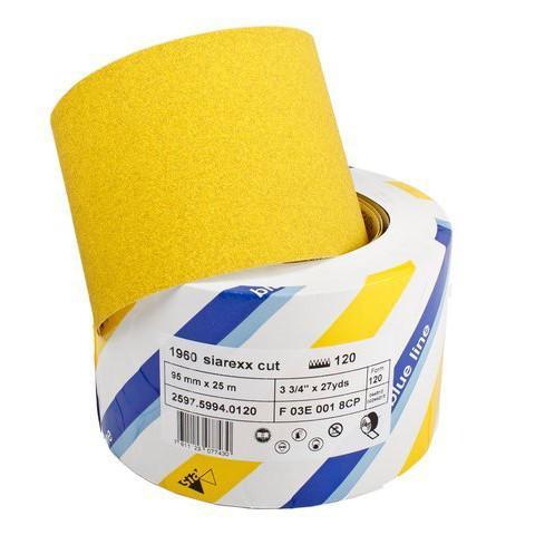 Schuurpapier op rol 60 - 120 - 180